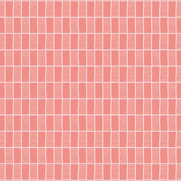 Scribbled rectangle background pattern vector in salmon color by limengd