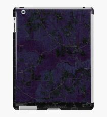 USGS TOPO Map Louisiana LA Dubach 20120413 TM Inverted iPad Case/Skin