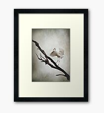 The Tightrope Framed Print