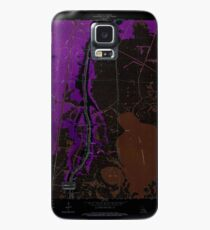 USGS TOPO Map Louisiana LA Dulac 331880 1964 24000 Inverted Case/Skin for Samsung Galaxy