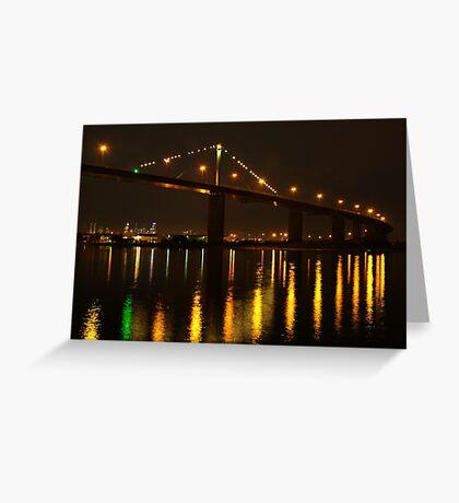 West Gate Bridge,Melbourne Greeting Card