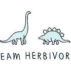«equipo herbívoro» de stickersnstuff