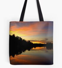 Firey Sunset Tote Bag