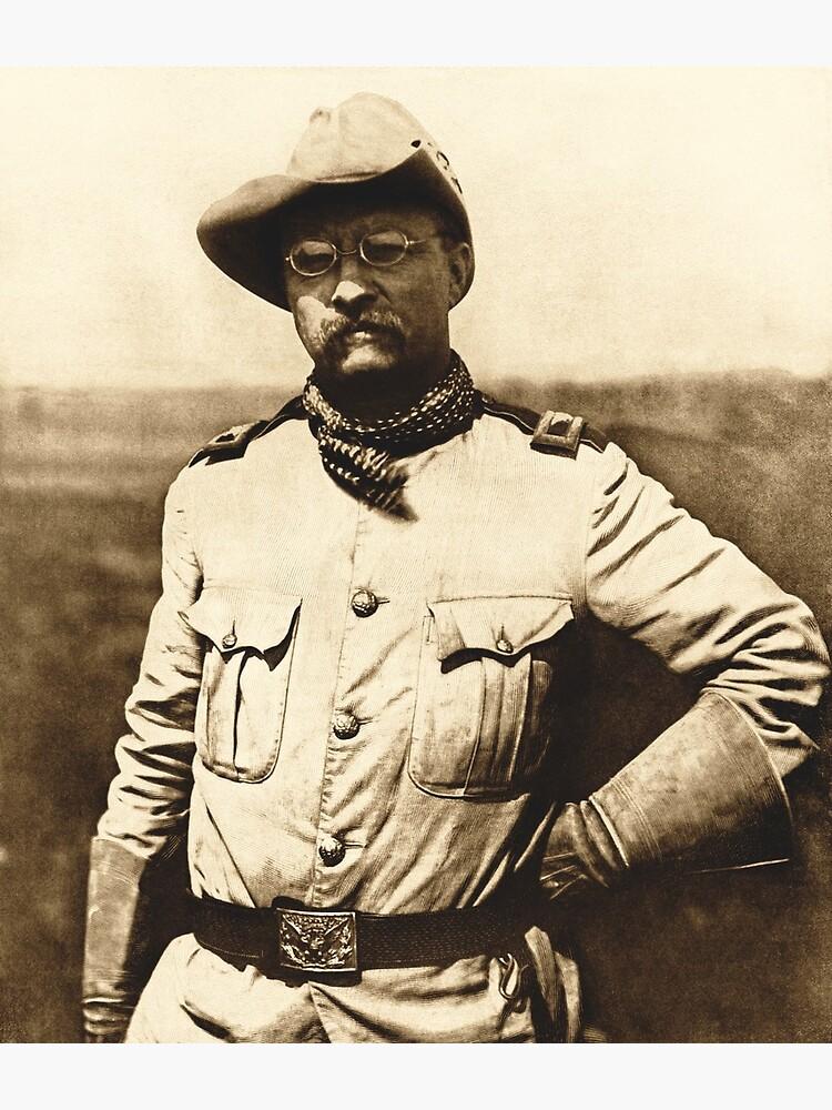 Colonel Theodore Roosevelt by warishellstore