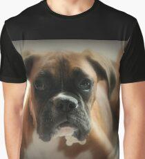 Gesicht der Unschuld ~ Boxer-Hundeserie Grafik T-Shirt