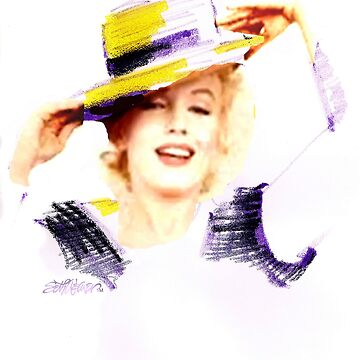 Marilyn In A Hat by sethweaver