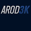 AROD 3K 3,000 hits by typeo