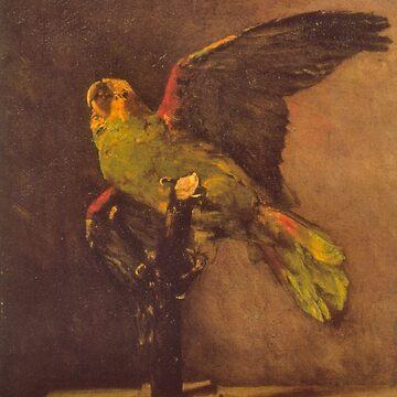 'Parrot' by Vincent Van Gogh (Reproduction) by RozAbellera