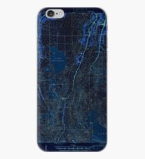 USGS TOPO Map Louisiana LA Dulac 334491 1941 62500 Inverted iPhone Case