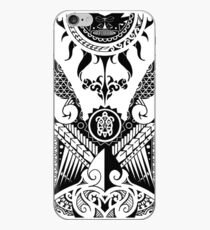 Stammes-Maori iPhone-Hülle & Cover