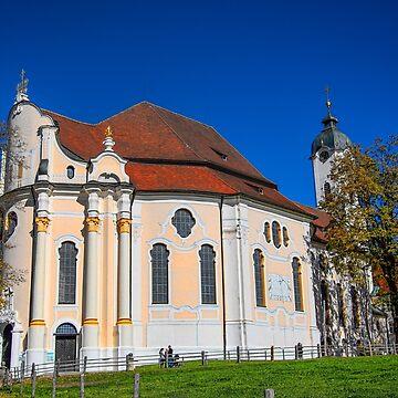Germany. Bavaria. Wieskirche. by vadim19