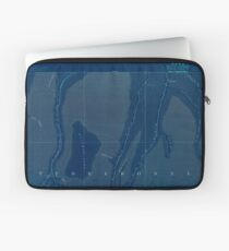 USGS TOPO Map Louisiana LA Dulac 334497 1894 62500 Inverted Laptop Sleeve