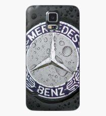Mercedes Benz Car Logo 3D Hülle & Klebefolie für Samsung Galaxy