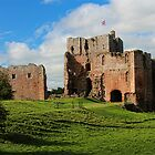 Brougham Castle - Cumbria, England by Marilyn Harris