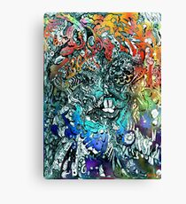 Terminal Frost. Canvas Print