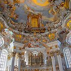 Germany. Bavaria. Wieskirche. Organ. by vadim19