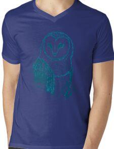 Owl Tee Mens V-Neck T-Shirt