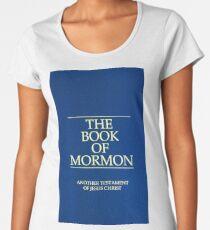 The Book of Mormon English Language Women's Premium T-Shirt