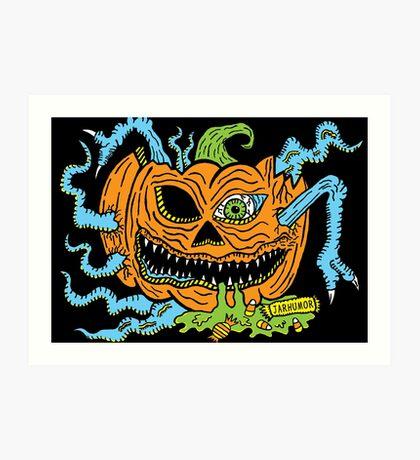Pumpkin Creep Lámina artística