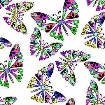 Butterflies, summer by fuzzyfox