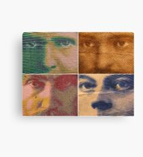 Franc Faces Canvas Print