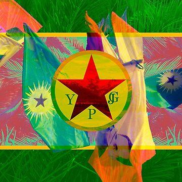 YPG - YPJ - Abdullah Ocalan - Rojava - Kurdistan - Ecology by real-leftorium