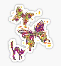 The Butterfly Chaser Sticker