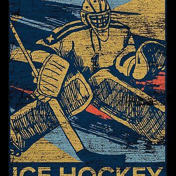 Ice hockey winter by GeschenkIdee