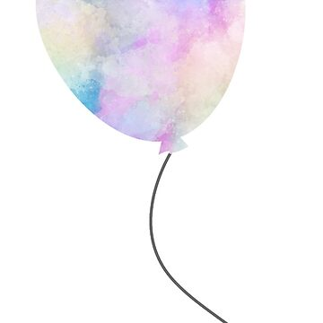 Water Color Balloon by FandomTrading