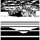 Running Rainier  *Black* by MalapitDesign