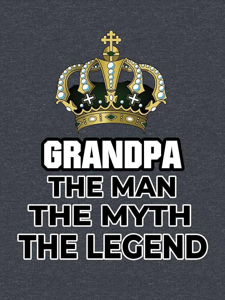 Grandpa Man Myth Legend Grandpa Gifts for Christmas, Father Day and Birthday by cadcamcaefea