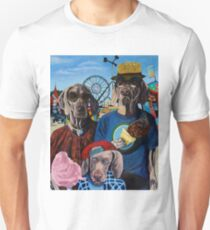 American Dogs at the Fair Unisex T-Shirt