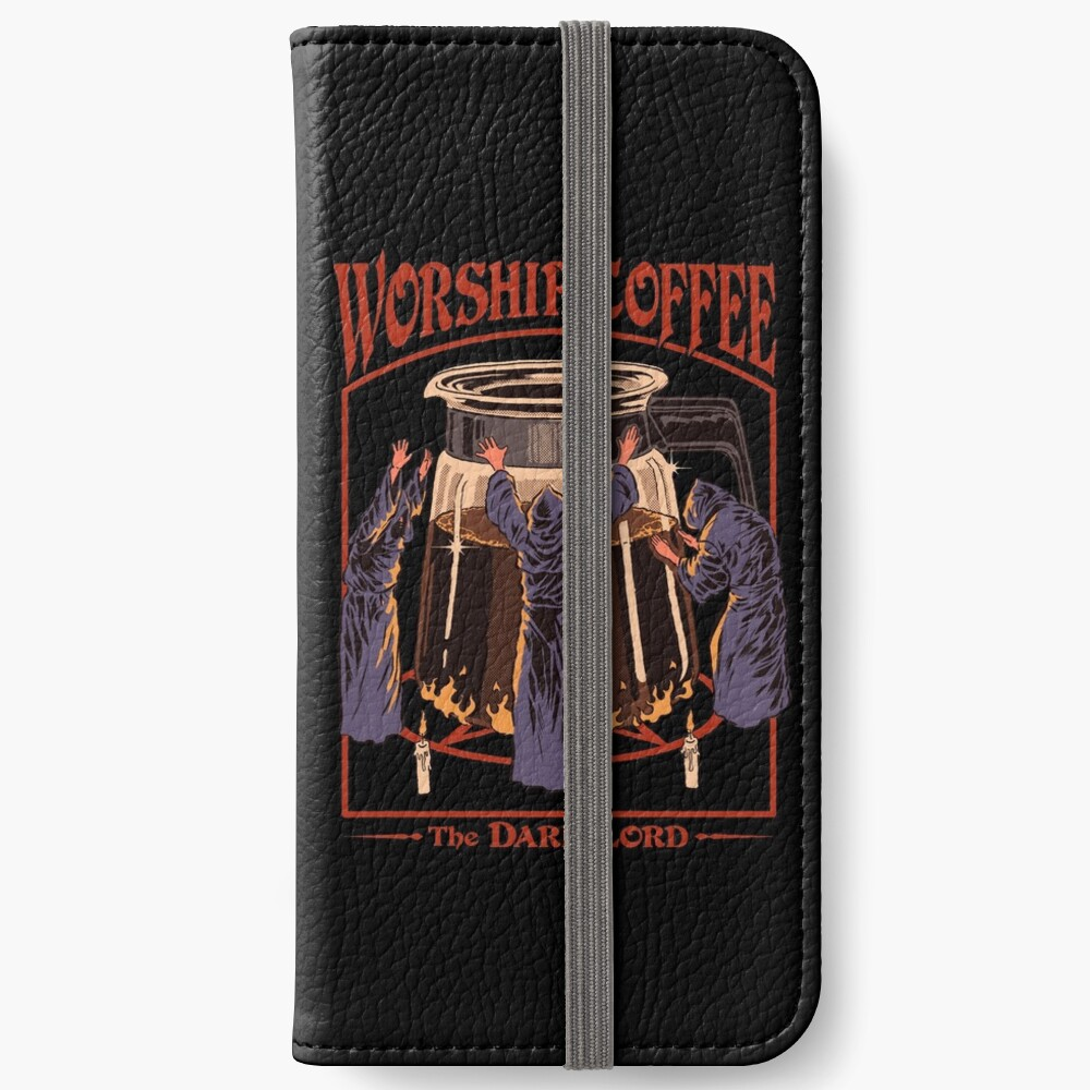 Worship Coffee iPhone Wallet