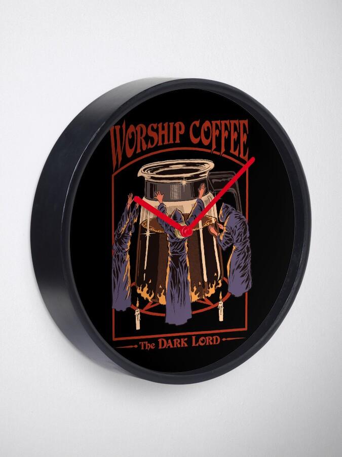 Alternate view of Worship Coffee Clock