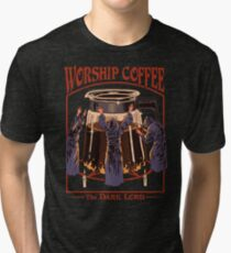 Worship Coffee Tri-blend T-Shirt