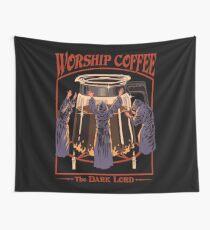Anbetung Kaffee Wandbehang