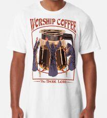 Anbetung Kaffee Longshirt