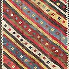 Luri  Antique Fars South West Persian Kilim by Vicky Brago-Mitchell