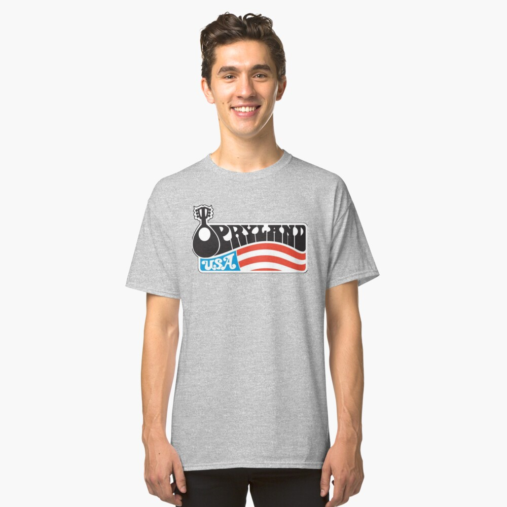 Diseño gráfico OPRYLAND USA Camiseta clásica