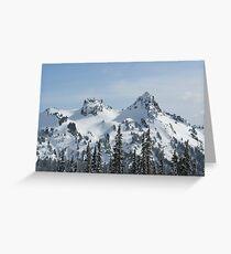Tatoosh Mountains Greeting Card