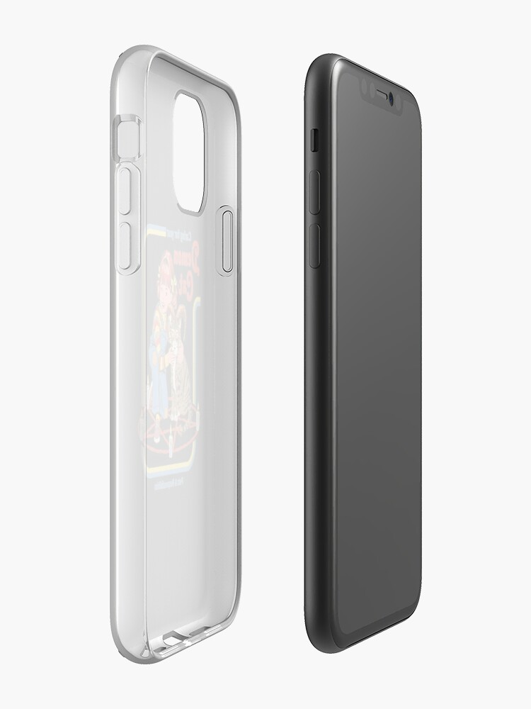Alternate view of Caring For Your Demon Cat iPhone Case & Cover