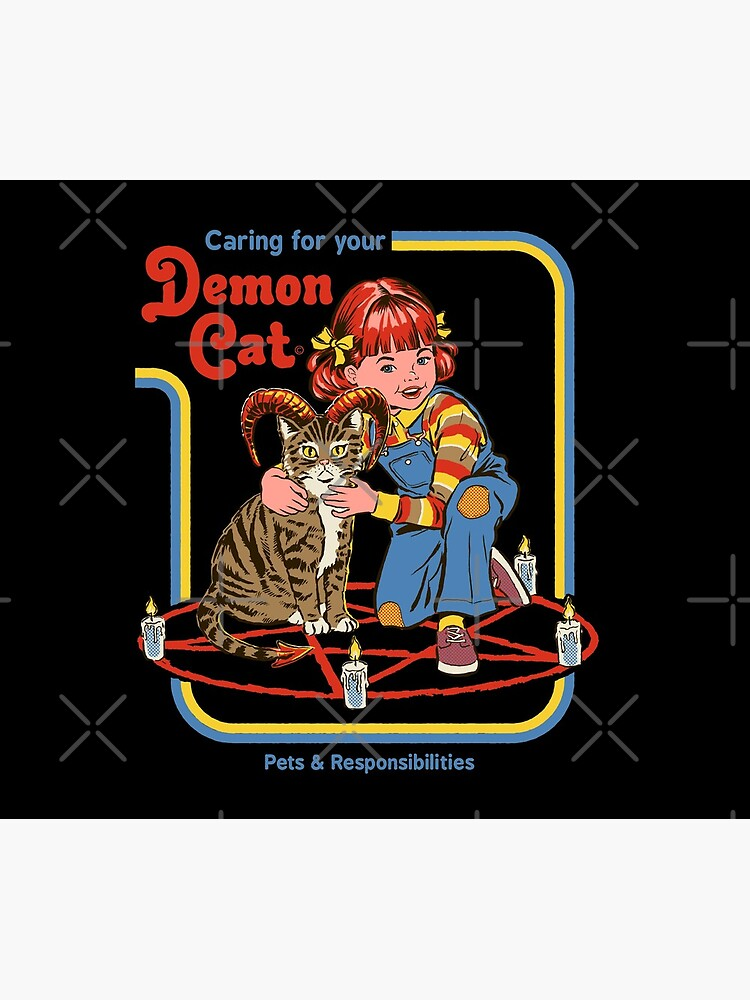 Caring For Your Demon Cat by stevenrhodes