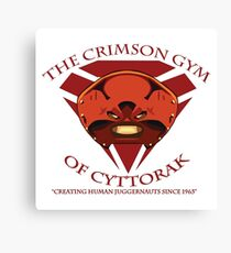 The Crimson Gym of Cyttorak Canvas Print