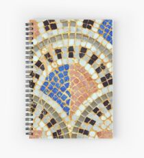 arab mosaic Spiral Notebook