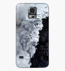 8.2.2017: Natürliches Eis und nasser Stein Hülle & Klebefolie für Samsung Galaxy