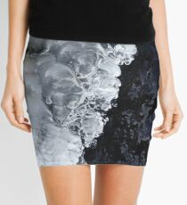 8.2.2017: Natural Ice and Wet Stone Mini Skirt