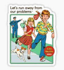 Échappons-nous Sticker