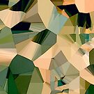 Desert Dunes and Oases Abstract Art by Jim Plaxco