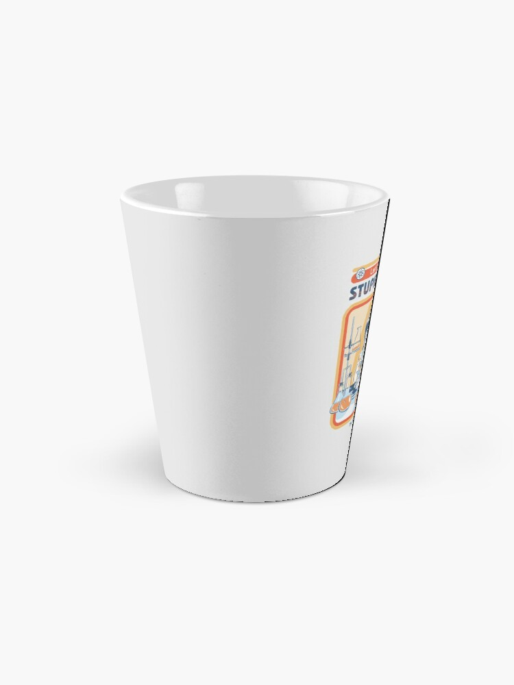 Alternate view of A Cure For Stupid People Mug