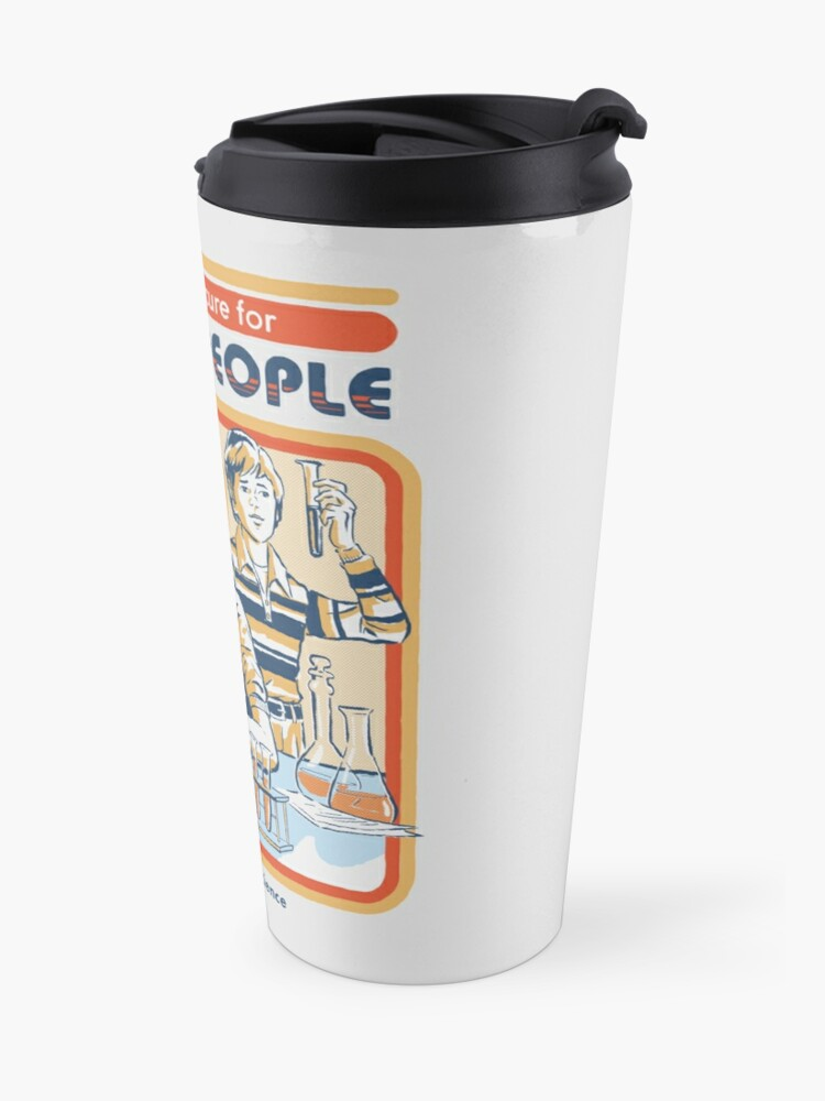 Alternate view of A Cure For Stupid People Travel Mug